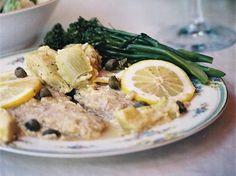 Veal Francese with Artichoke Hearts   Cookstr.com