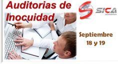 En septiembre hay varios cursos, tenemos el Curso de Auditores de Inocuidad http://www.sica-alimentos.net/#!auditorias-de-inocuidad/c19h5