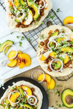 BBQ chickpea flatbread by Keeping it Kind