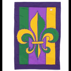 Fiber-Optic Light Up Fleur De Lis Flag Mardi Gras Beads, Mardi Gras Party, Mardi Gras Outlet, New Orleans Recipes, Mardi Gras Decorations, Masquerade Party, Artist Trading Cards, Event Decor, Party Supplies