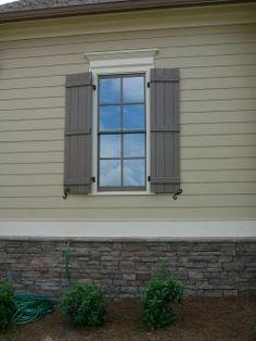 exterior shutter color ideas - Google Search