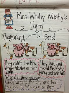 Fabulous in First - Mrs. Wishy Washy's Farm free unit.