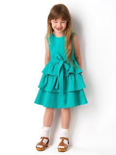 Платье Vika Smolyanitskaya. Цвет зеленый.