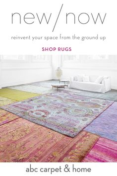 Reinvent your home with a one-of-a-kind handknotted rug from ABC Carpet & Home. Discover moroccan, overdyed, contemporary and vintage rugs + free shipping.