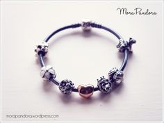 Pandora oxidised bracelet featuring the Autumn 2014 King of the Jungle charm :)