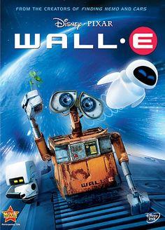Wall. E  is een ontwerp geïnspireerd op een vuilniscontainer. Hij heeft rupsbanden en grijphanden om zo afval te verzamelen.
