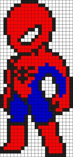 Resultado de imagen para pixel art spiderman
