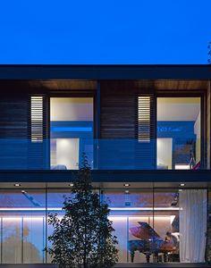 Galeria - Residência no Parque Fitzroy / Stanton Williams - 8 Luz Natural, Stanton Williams, 1950s House, Storey Homes, Ground Floor Plan, Design Strategy, Park Homes, Sliding Glass Door, Beautiful Buildings