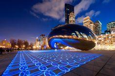 """""""Luminous Field"""": transformar o espaço público através de luz e som"""