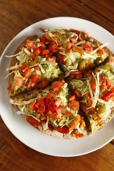 The Chubby Vegetarian: Super-Easy Vegetarian Mexican Pizza