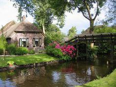 Giethoorn en Holanda