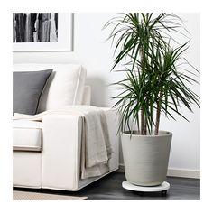 """ÖSTLIG Plant pot  - IKEA $16.99  Height: 12 ½ """"  Outside diameter: 12 ½ """"  Inside diameter: 11 ¾ """""""