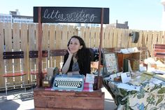 Adorable Craft Festival Booth Setup/Display
