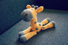 Ravelry: stephanierose4's Jerry the Giraffe
