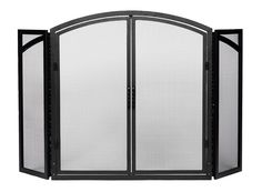Minuteman International X800270 Black Door Screen *** Instant Savings available here : Home Decor Fireplaces Accessories
