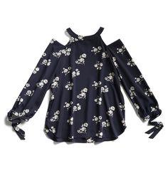 Winter Stylist picks: Floral cold shoulder top