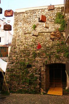 Locarno, Canton Ticino, Rivellino del castello, Leonardo da Vinci. MilanoArte