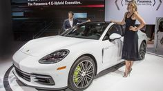 Porsche verläuft über die gesamte Gamut In Los Angeles LA Auto Show Porsche Po