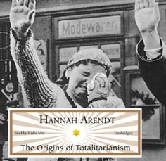 "Hannah Arendt's #History ""The Origins of Totalitarianism"" is part of a special publisher's #Sale thru 4/21. Sample the audio here: http://amblingbooks.com/books/view/the_origins_of_totalitarianism"