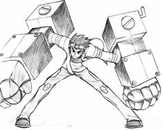 Generator Rex sketch