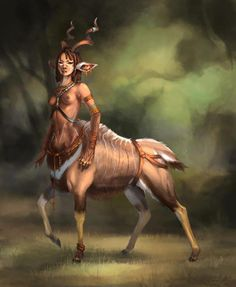 Satyr, Centaurs or any hoofed being
