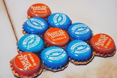 Craft some drink coasters From: If You Keep Your Bottle Caps, You Can Do These 20 Epic Things With Them x-Viral.com