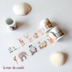 Washi Tape animales dulces