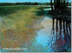 Spring Reflections by Ton Dubbeldam