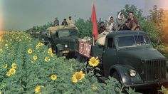 Счастливые люди Советского Союза