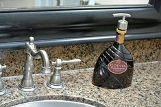 Godiva Pump Soap Dispense.  Chocolate Liqueur Pump Bottle. Click on picture to find yours! @lookingsharpcactus