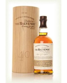 THE BALVENIE 40 YEAR OLD SCOTCH WHISKY (750 ML)
