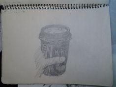 20141011 커피..그림일기가 조금씩 밀린다..