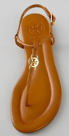 Tory Burch sandal--I totally need a brown pair to go with everything!