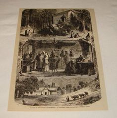La Grande Chartreuse - Gravure de 1879