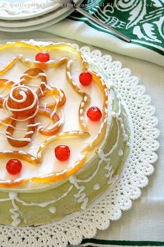 The most famous #sicilian cake, the cassata, because in #Sicily the password is #ricotta cheese and goodbye diet but happy view. To taste this joy at #Trapani old town have a look at #B&B Belveliero bebtrapanilveliero.it