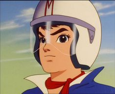 """""""Here he comes. Here comes Speed Racer. He's a demon on wheels...""""  Speed Racer was America's 1967 introduction to anime."""