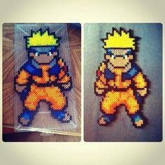 Naruto perler beads by e.vang
