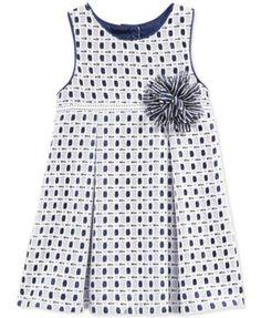 Marmellata Baby Girls' Eyelet Dress