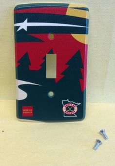 MINNESOTA WILD Light Switch Cover Plate State of Hockey NHL Home Decoration  #MinnesotaWild