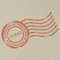 Wall Stencils   Paris Postmark Stencil   Royal Design Studio    This would be cute to do in a new home with the move in date.
