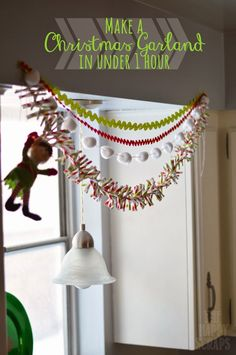 Quick & Simple Christmas Garland -