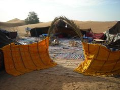Good time for desert camping in #Morocco, not so cold, not so hot!