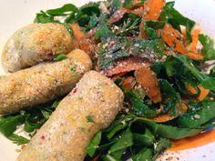 Patrícia is cooking.: Croquetes de legumes crus {Vegan, cru}