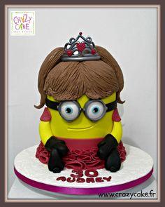 Ma minion mignonne / Pretty little minion by Crazy Cake