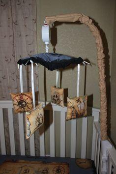 Peter Pan Themed Crib Mobile