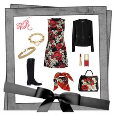 """Sushi con le amiche."" by valeprinci ❤ liked on Polyvore featuring Dolce&Gabbana, L.K.Bennett, Blue Nile and Tiffany & Co."