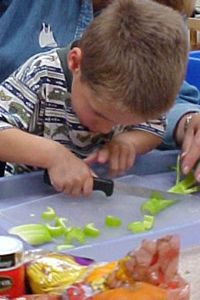 Increasing Your Visually Impaired Preschooler's Independence in the Kitchen and at Meals