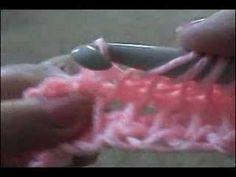 Crochet Afghan Tunisian Stitch - Part 2