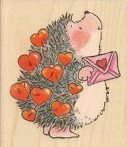Penny Black Hedgehog Stamps