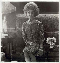 vintage everyday, portrait by Diane Arbus, look at that hair!